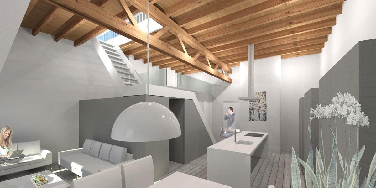 loftappartement-met-dakterras-interieur