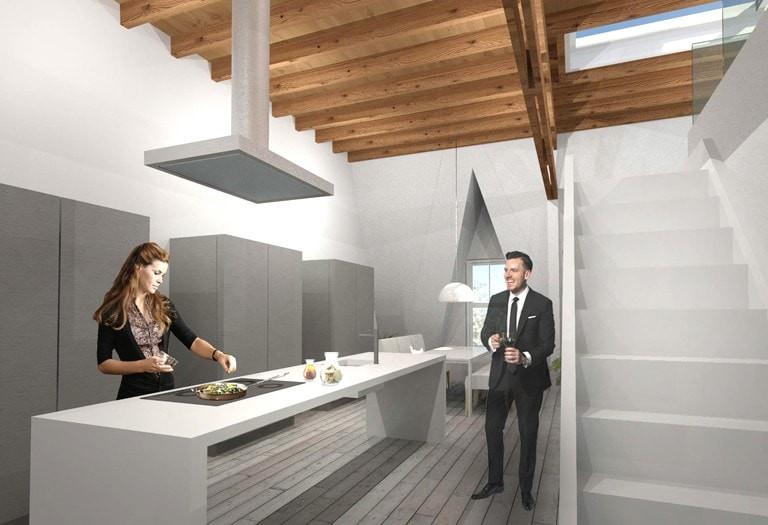 loftappartement-met-dakterras-interieur-keuken