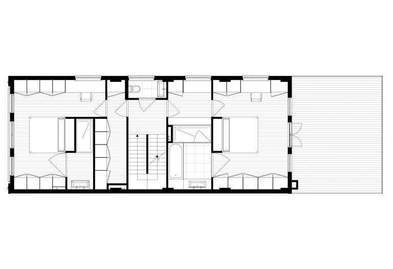 verbouwing-kerk-tot-woonhuis-plattegrond-begane-grond-nieuw